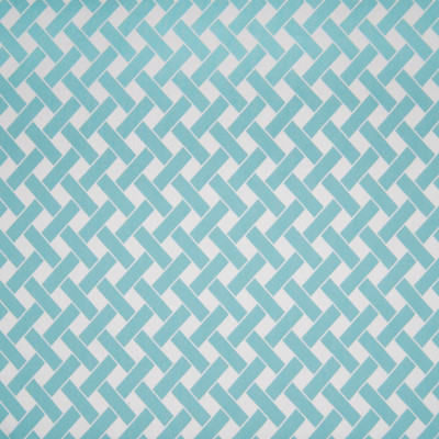 B3367 Pool Fabric: D18, SPA BLUE GEOMETRIC, BLUE AND WHITE GEOMETRIC, CRISS CROSS,WOVEN