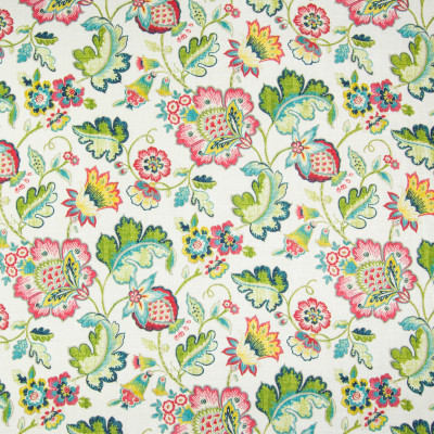 B3389 Springrose Fabric: D18, NAVY AND RED FLORAL PRINT, NAVY FLORAL PRINT, RED FLORAL PRINT, BLUE AND RED FLORAL PRINT