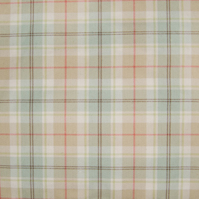 B3390 Retro Fabric: D18, BLUE PLAID, BLUE AND RED PLAID, SPA BLUE PLAID,WOVEN