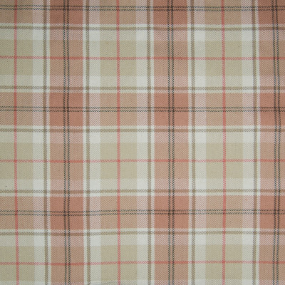 B3398 Autumn Fabric: D18, PINK PLAID, PINK AND BEIGE PLAID, CORAL PLAID,WOVEN
