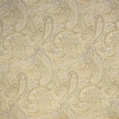 B4101 Platinum Fabric: E72, D35, PAISLEY TAPESTRY, GOLD TAPESTRY, GOLD PAISLEY, TRADITIONAL PAISLEY, GOLD SCROLL, TAPESTRY, TRADITIONAL SCROLL