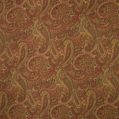 B4105 Garnet Fabric: E72, D35, PAISLEY TAPESTRY, RED TAPESTRY, RED PAISLEY, TRADITIONAL PAISLEY, RED SCROLL, TAPESTRY, TRADITIONAL SCROLL, GARNET
