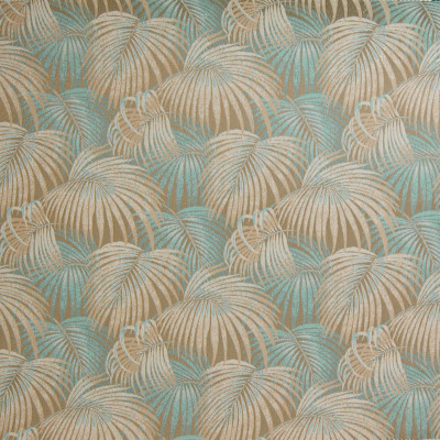 B4133 Oceanic Fabric: E18, OUTDOOR FABRIC, INDOOR/OUTDOOR FABRIC, OUTDOOR PERFORMANCE FABRIC, BLEACH CLEANABLE, UV RESISTANT, ANTIMICROBIAL, STAIN RESISTANT, PALM LEAVES, PALM LEAF, TROPICAL PALM