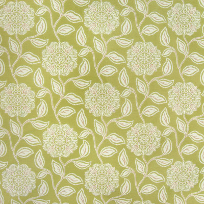 B4140 Sprout Fabric: D36, OUTDOOR FABRIC, GREEN FLORAL, SAGE COLORED FLORAL, BEACH TROPICAL FLORAL,WOVEN