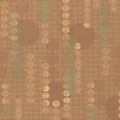 B4257 Invision Caramel Fabric: D38, ANTIFUNGAL, VINYL, MARINE VINYL,     CIRCLES, DOTS, ANTIFUNGAL, LIGHT BROWN, ORANGE, GOLD,  PRINTED VINYL, MULTI COLOR VINYL, CONTEMPORARY VINYL, COPPER, CONTRACT VINYL, ANTI-MICROBIAL, ANTI-STATIC, HEALTHCARE, COMMERCIAL