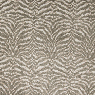 B4303 Beige Fabric: D39, CHENILLE, ANIMAL CHENILLE, ZEBRA STRIPE, ANIMAL STRIPES, TAUPE, NEUTRAL ANIMAL,WOVEN, SKINS, SKIN