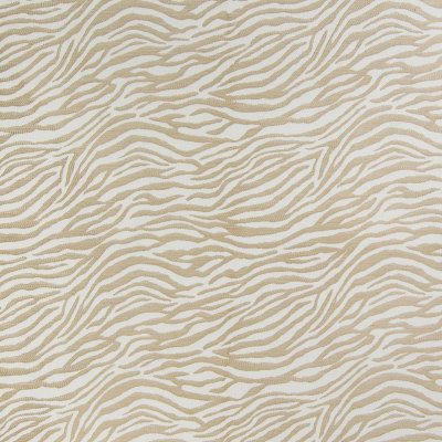 B4305 Birch Fabric: D39, WHITE, BEIGE, CREAM, OFF WHITE, ZEBRA, ZEBRA STRIPES, CHENILLE STRIPES, NUTRAL, NATURAL, ANIMAL PRINT, ANIMAL SKIN, SKINS