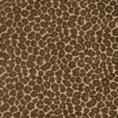 B4308 Nutmeg Fabric: D39, SPOTS, ANIMAL SPOTS, CHENILLE ANIMAL, LEOPARD, CHEETAH,WOVEN, SKINS, SKIN
