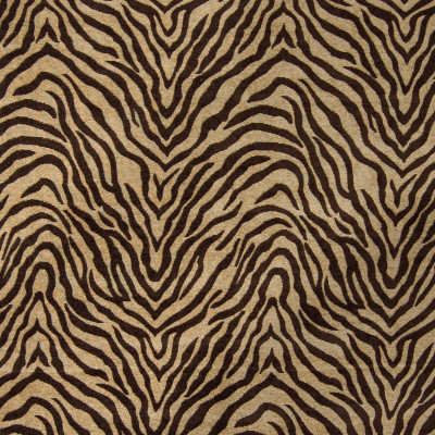 B4309 Brown Fabric: D39, BROWN ANIMAL STRIPE, BROWN STRIPE, ANIMAL STRIPES, ANIMAL SKIN, ANIMAL PATTERN, ANIMAL PRINT, CHOCOLATE BROWN, DARK BROWN, CHENILLE ANIMAL, WOVEN, SKINS, SKIN