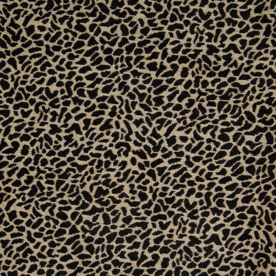 B4315 Onyx Fabric: D39, BLACK AND WHITE, BLACK AND WHITE SPOT, BLACK AND WHITE ANIMAL, SPOTS, ANIMAL SPOTS, CHENILLE, ANIMAL CHENILLE,WOVEN, SKINS, SKIN