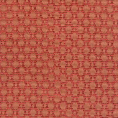 B4360 Clay Fabric: D40, RED DOT, RED GEOMETRIC, SOLID RED GEOMETRIC,WOVEN