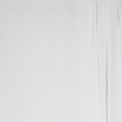 B4375 White Snow Fabric: D41, WHITE SHEER, WHITE WOVEN SHEER, SUPER BATISTE WHITE SNOW, WHITE BATISTE, SNOW WHITE BATISTE,  INHERENTLY FLAME RETARDANT, INHERENTLY FIRE RETARDANT