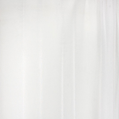 B4377 Milk Fabric: D41, WHITE SHEER, WHITE STRIPED SHEER, WHITE WOVEN SHEER, WHITE STRIPED TEXTURE STRIPE, INHERENTLY FLAME RETARDANT, FIRE RETARDANT