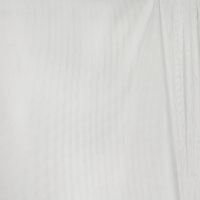 B4389 Coin Fabric: D41, NATURAL WOVEN SHEER, WHITE WOVEN SHEER, INHERENTLY FLAME RETARDANT, FIRE RETARDANT