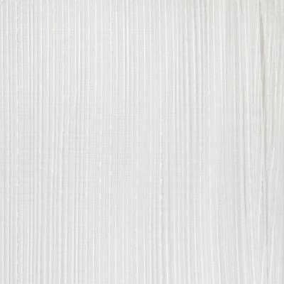 B4390 Serenity Fabric: D41, WHITE SHEER, WHITE STRIPED SHEER, WHITE WOVEN SHEER, WHITE STRIPED TEXTURE STRIPE, WHITE STRIPED EMBROIDERY SHEER, INHERENTLY FLAME RETARDANT, FIRE RETARDANT