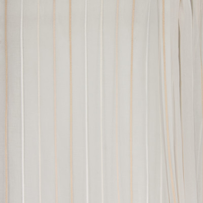 B4401 Vanilla Fabric: D41, WHITE STRIPE, CREAM STRIPE, BEIGE STRIPE SHEER, INHERENTLY FLAME RETARDANT, FIRE RETARDANT,WOVEN