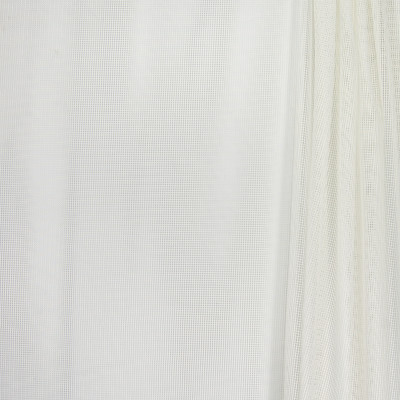 B4411 Ivory Fabric: D41, NATURAL WOVEN SHEER, WHITE WOVEN SHEER, IVORY CHECK, IVORY PLAID SHEER, INHERENTLY FIRE RETARDANT