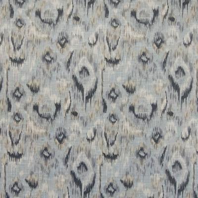 B4617 Graphite Fabric: D43, GRAY IKAT, GREY IKAT, SOUTHWEST IKAT