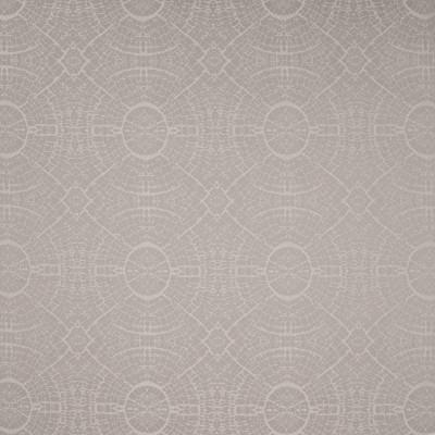 B4662 Foil Fabric: D44, CONTEMPORARY, MEDALLION, SHATTER, CIRCLE, CIRCLE DAMASK, CONTEMPORARY DAMASK, SHEEN, SHINE, WHITE, CREAM, SUZANI
