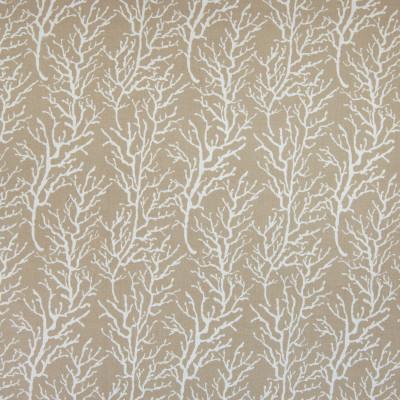 B4670 Beige Fabric: D44, CORAL PRINT, REEF PRINT, CORAL REEF, CORAL REEF PRINT, LINEN LOOK, BEACH LINEN, TROPICAL NEUTRAL TROPICAL, OCEAN PRINT, SEA PRINT, CORAL PATTERN, REEF PATTERN