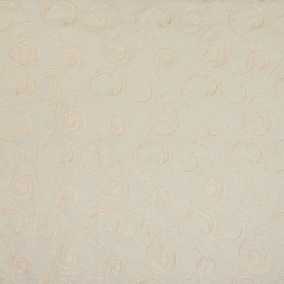B4744 Bisque Fabric: D45, BEIGE SCROLL EMBROIDERY, SCROLL EMBROIDERY, KHAKI SCROLL EMBROIDERY, OFF WHITE SCROLL EMBROIDERY