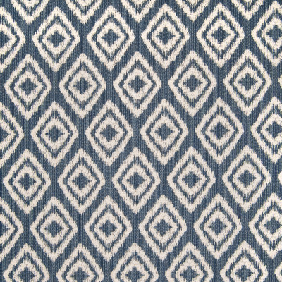 B4971 Indigo Fabric: D92, D47, BLUE DIAMOND, MEDIUM BLUE DIAMOND, MEDIUM BLUE GEOMETRIC,
