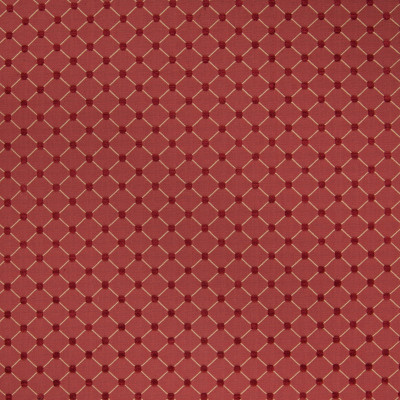 B4981 Lacquer Fabric: D48, CHENILLE, CHENILLE DOT, DARK RED, TRADITIONAL CHAIR SCALE, WOVEN DIAMOND, CHAIR SCALE DIAMOND