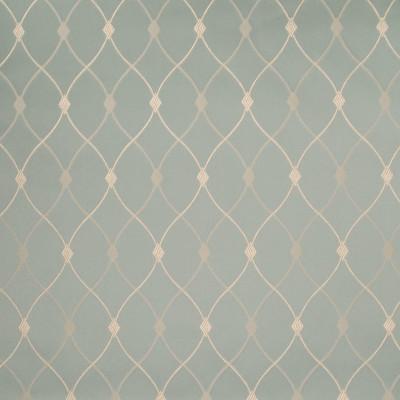 B5058 Mermaid Fabric: D49, TEAL, GEOMETIRC JACQUARD, LATTICE PATTERN, SATIN, DIAMOND,WOVEN