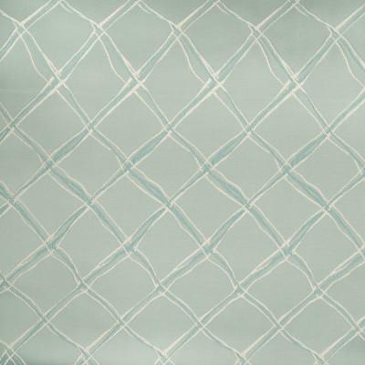 B5061 Pond Fabric: D49, CONTEMPORARY DIAMOND, GEOMETRIC JACQUARD, DIAMOND PATTERN, TEAL GREEN, SATIN