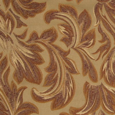 B5326 Thyme Fabric: D50, RED FLORAL, RED SCROLL DAMASK, JACQUARD,FOLIAGE