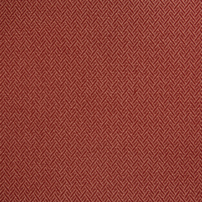 B5652 Langostine Fabric: D56, CRYPTON, CRYPTON FINISH, CRYPTON HOME, EASY TO CLEAN, PERFORMANCE, ANTIMICROBIAL, STAIN RESISTANT, STAIN RESISTANCE, RED CHEVRON, RED GEOMETRIC, RED WOVEN HERRINGBONE