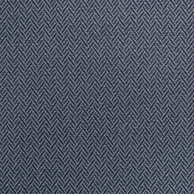 B5689 Indigo Fabric: D56, CRYPTON, CRYPTON FINISH, CRYPTON HOME, EASY TO CLEAN, PERFORMANCE, ANTI-MICROBIAL, STAIN RESISTANT, STAIN RESISTANCE, BLUE CHEVRON, DARK BLUE CHEVRON, DARK BLUE GEOMETRIC,WOVEN