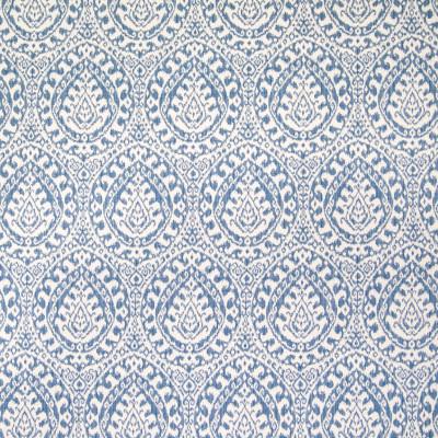 B5729 Denim Fabric: E32, D92, D73, D57, BLUE MEDALLION IKAT, OCEAN BLUE, CADET BLUE MEDALLION, IKAT, SOUTHWEST PATTERN, WOVEN