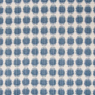 B5731 Cabana Blue Fabric: D57, BLUE DOT, BLUE POLKA DOT, BLUE WOVEN DOT, BLUE POLKA DOT