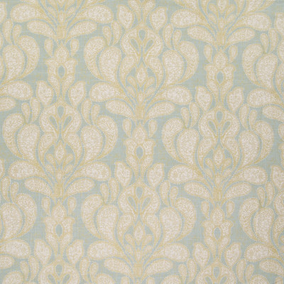B5740 Mist Fabric: D58, BLUE METALLIC PRINT, BLUE MEDALLION PRINT, SPA BLUE MEDALLION PRINT, SKY BLUE METALLIC PRINT, LARGE SCALE MEDALLION PRINT, LARGE SCALE METALLIC PRINT