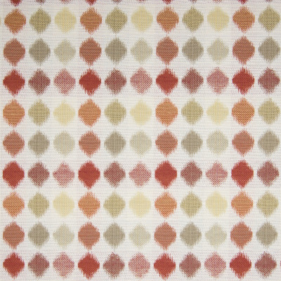 B5785 Sedona Fabric: D58, RED POLKA DOT, ORANGE POLKA DOT, TUSCAN POLKA DOT, BURNT POLKA DOT, ADOBE GEOMETRIC, ADOBE DOT, ADOBE POLKA DOT,WOVEN