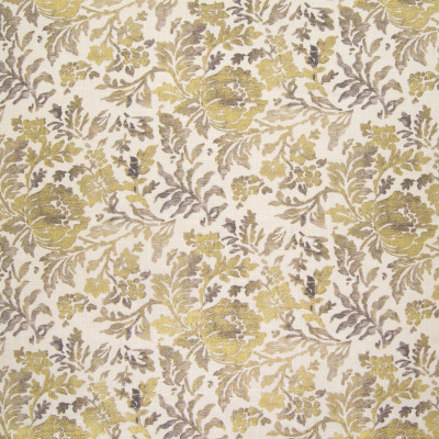 B5789 Grey Fabric: D58, GOLD METALIC FLORAL PRINT, GOLD FLORAL PRINT, METALLIC GOLD FLORAL PRINT