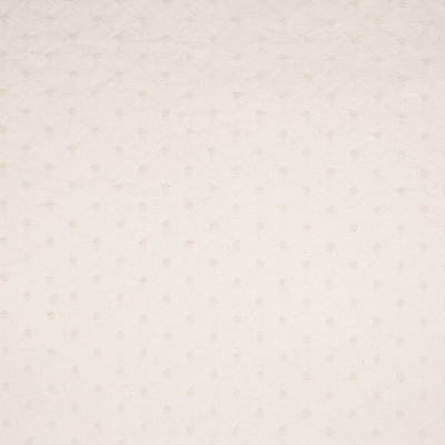 B5945 Natural Fabric: D61, POLKA DOT, OFF WHITE, COTTON, WASHABLE, PRE-WASHED, PRE-SHRUNK, MACHINE WASHABLE,WOVEN