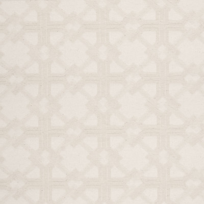 B5947 Ivory Fabric: D61, GEOMETRIC, OFF WHITE, WASHABLE, PRE-WASHED, PRE-SHRUNK, MACHINE WASHABLE