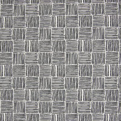 B6002 Onyx Fabric: D62, BLACK GEOMETRIC, BLACK CHECK, BLACK CHECKERS,WOVEN