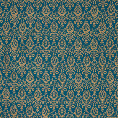 B6183 Balsam Fabric: D64, DARK TEAL MEDALLION, TEAL MEDALLION, TURQUOISE  MEDALLION, LARGE SCALE MEDALLION
