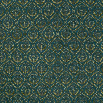 B6185 Balsam Fabric: D64, DARK TEAL FLORAL, DARK TEAL MEDALLION, SMALL SCALE FLORAL, SMALL SCALE MEDALLION