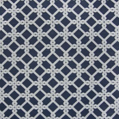 B6195 Marine Fabric: D64, NAVY GEOMETRIC, NAUTICAL GEOMETRIC, DARK BLUE GEOMETRIC, DARK BLUE LATTICE, NAVY LATTICE