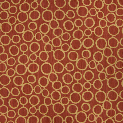 B6204 Ember Fabric: D64, RED DOT, RED CIRCLE, ORANGE CIRCLE, ORANGE DOT, CONTEMPORARY ORANGE CIRCLE