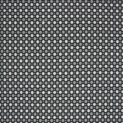B6316 Anvil Fabric: D66, MADE IN USA, DURABLE, COTTON, CHAIR SCALE PATTERN, CHAIR SCALE, DOT, CIRCLE PATTERN, BLACK AND WHITE, BLACK, WHITE AND GRAY, CHAIR PATTERN