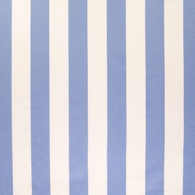 B6336 Blueberry Fabric: D67, MADE IN USA, 100% COTTON, CORFLOWER BLUE, BLUE AND WHITE STRIPE, POWDER BLUE STRIPE, CLASSIC STRIPE, LARGE SCALE STRIPE, 100% COTTON PRINT