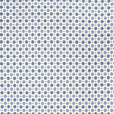 B6339 Marine Fabric: D67, DURABLE,  MADE IN USA, CHAIR SCALE, SMALL DOT, BLUE POLKA DOT, CHAIR SCALE CIRCLE, CHAIR PATTERN, COTTON BLEND