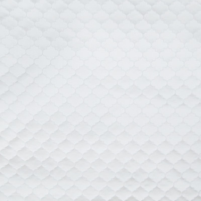 B6441 White Fabric: D69, SNOW WHITE OGEE, WHITE OGEE, SOLID WHITE OGEE, SOLID WHITE GEOMETRIC, WHITE GEO, SHINY WHITE GEOMETRIC, SMALL SCALE OGEE, SMALL SCALE GEOMETRIC,WOVEN