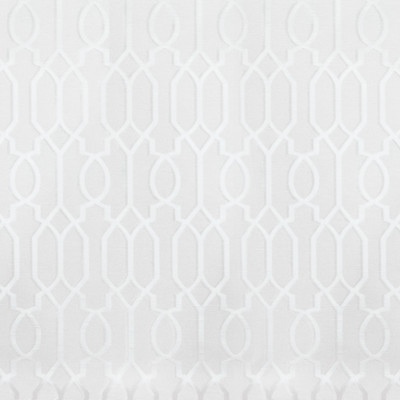 B6442 Ice Fabric: D69, TONE ON TONE WHITE GEOMETRIC, TONE ON TONE WHITE LATTICE, SHINY WHITE GEOMETRIC LATTICE, MEDIUM SCALE GEOMETRIC, MEDIUM SCALE LATTICE,WOVEN
