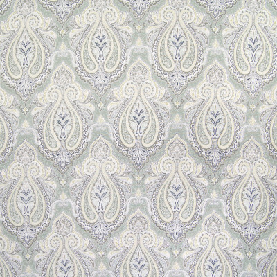 B6494 Dove Fabric: D69, D71, MINT COLORED MEDALLION PRINT, MINT MEDALLION PRINT, COTTON PRINT, MINT GREEN MEDALLION